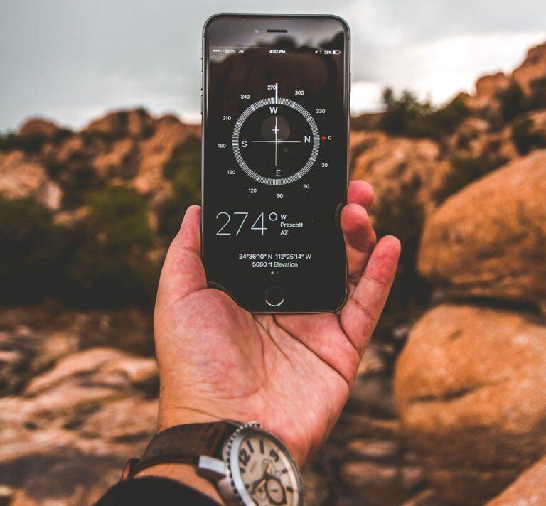 قطب نمای گوشی موبایل
